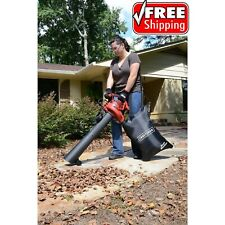 Craftsman Leaf Blower Variable Speed 12 Amp Corded Vacuum Mulcher with Bag Kit
