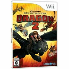 How to Train Your Dragon 2 (Nintendo Wii, 2014) Disc Only