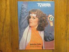 Dec. 18-1983 Chicago Tribune TV Week Mag(MADELINE KAHN/OH MADELINE/JAMES  SLOYAN