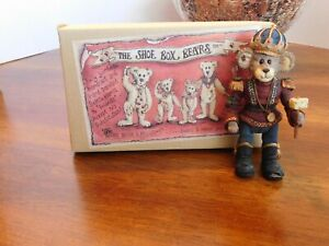 Boyds The SHOE BOX BEARS N. MOUSEKING JOINTED 3rd Edition # 3448  MIB