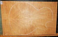 FIGURED MAPLE 5/8 TOP on ALDER WOOD LES PAUL Guitar Body BLANK 10626 unfinished