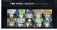 GB Presentation Pack 437 The Royal Society 350 yr 2010. 10% OFF ANY 5+