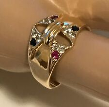 14k Yellow Gold Diamond Ring / Band - Wear or Scrap