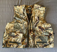 Outfitters Ridge Men's Hunting Game Vest Fusion 3-D Camouflage Size XL 46/48