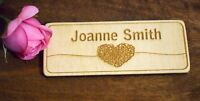 Wooden Name & Place Settings - Engraved to Order - Wedding Party Table Decor