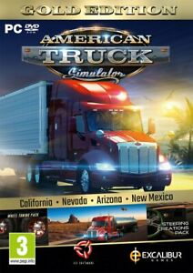 American Truck Simulator Gold Edition PC Brand New Factory Sealed