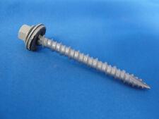 "2"" Long Metal Roofing & Siding Screws #10, Light Stone, Qty 1000 screws"