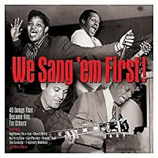 We Sang Em First 40 Classic Songs on 2 CD  Chuck Berry Nat King Cole