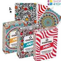 Copag Neo Cartes de Jeu Poker Papier Standard Neuf