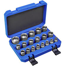 19 pz Gear Lock set di chiavi bussola universale attrezzo metricha pollici torx