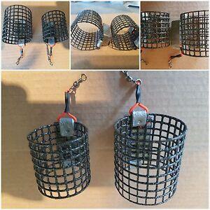 10off (2 x 8oz XL cage)+(3 x 6oz & 5oz , 2 x 4oz std cage) quality cage feeders