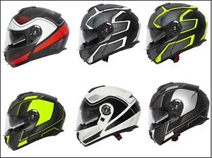 Spada Orion Flip Up Front Modular Motorcycle Motorbike Touring Helmet