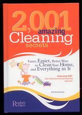 2,001 Amazing Cleaning Secrets (2004, Hardcover) NEW