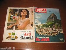 EPOCA 1962/640=RIO DE JANEIRO=BASSOTTO NORMANNO=JAIR DA COSTA=DALAI LAMA=