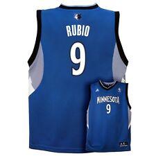 (2016-2017) Minnesota Timberwolves RICKY RUBIO nba ADIDAS Jersey YOUTH (L-LARGE)