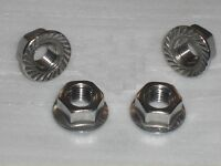 4x Stainless Steel 5/16 UNF FLANGE Nuts Harley Davidson, Buell Exhaust Headers?