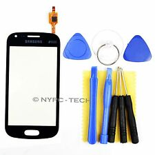 Black Touch Digitizer Screen Lens for Samsung Galaxy S7562 S7560 S7560M w/ Tools