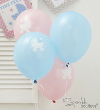 Baby Shower/Christening BALLOONS-Unisex Decorations-FULL TINY FEET RANGE IN SHOP