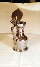 Handsome Pewter Tankard with twin-acorn detailing
