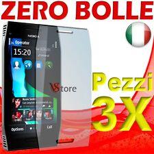 3 Pièces Film Pour Nokia X7 Protéger Sauve écran écran à cristaux liquides Films
