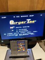 🔥100% WORKING NINTENDO NES RARE FUN ARCADE Game Cartridge DATA EAST BURGERTIME