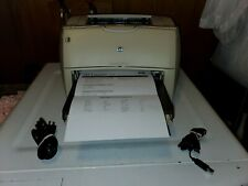 Hp LaserJet 1200 Model C7044A W/ Paper Tray USB & Power Cords Toner Tested Works