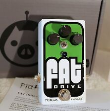 Pigtronix Fat Drive Tube-Sound Overdrive New in Box Guitar Effects Pedal NIB