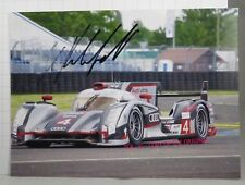 PHOTO cm 13x18 SIGNED by Mike Rockenfeller AUDI R18 ULTRA #4 LE MANS 2012