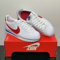 Nike Women's Shoes Classic Cortez Leather White/Red Size WMN's 7.5 NWT
