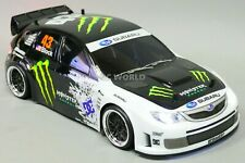Custom RC 1/10 Drift SUBARU STI Ken Block Drift AWD Belt CAR RTR W/ LED