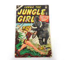 Vtg Lorna the Jungle Girl Comic Sep 1954 # 9 Atlas Adventure Golden Age Original