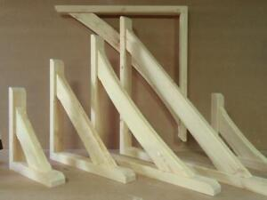 Gallows Bracket Timber Straight Brace Wooden Canopy - other sizes available
