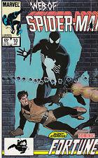 WEB OF SPIDERMAN 10...NM-...1986...Dominic Fortune!...Bargain!