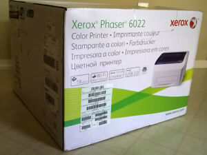 Xerox Phaser 6022/NI Wireless Color Laser Printer, 22ppm, 256MB, 512MHz