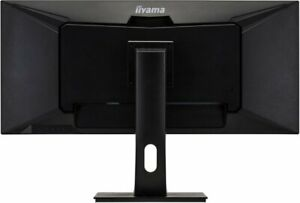 """PROLITE XUB3493WQSU-B1-34"""" IPS ultra-wide screen with a height adjustable stand"""