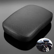 Motorcycle Passenger Leather Seat w/ 6 Cups for  Harley-Davidson Dyna 2013 2011