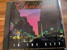 RARE MOTOWN CD CHRISTMAS IN THE CITY 1993 RARITIES MARVIN GAYE DIANA ROSS ++