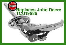 John Deere TCU19586 Replacement Chrome Door Handle - Free USA Shipping