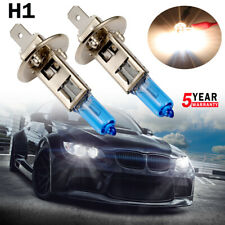 2x H1 6000K HID Xenon White Fog Light Headlight High Beam DRL Halogen Bulbs Kit