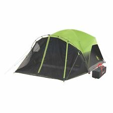 Coleman 6 Person Dark Room Fast Pitch Dome Family Camping Tent with Screen Room