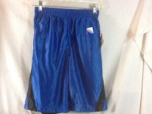 Nice STARTER REVERSIBLE Blue/Black NWT Boys 10 - 12 Elastic Waist Pull On Shorts