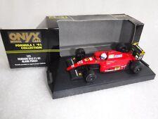 Onyx F1 91 Collection Ferrari 643 F1-91 Model Car No 121 Alain Prost