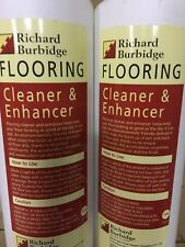 laminate floor cleaner  Liquid Enhancer Richard Burbidge Wooden Floor