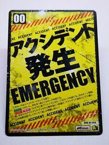 One Punch Man manga Tomy Hacha Mecha carte card game OH-01-014