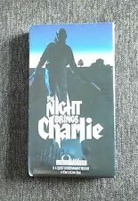 RARE OOP VHS HORROR * THE NIGHT BRINGS CHARLIE * NEW OLD STOCK