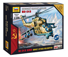 Z7403 sovietica MIL - 24 VP sovietica ATTACCO Elicottero-ZVEZDA MODERNA-GUERRA CALDA