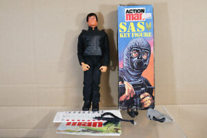 PALITOY UK ACTION MAN SAS KEY FIGURE SOLDIER with MOVING EAGLE EYES BOXED nz