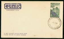 Mayfairstamps Australia 1959 Earlwood Eumig Advertising Cover wwg10427
