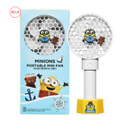 Minions Portable Mini Handy Fan USB charge Cooler Desk Cooling Fan With 3 Speed