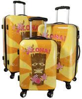 Betz maletas de viaje SET HAWAII1 con cerradura de seguridad TSA